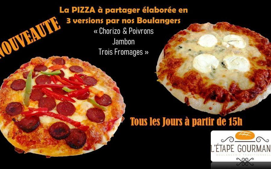 Pizzas à partir de 15h tous les jours