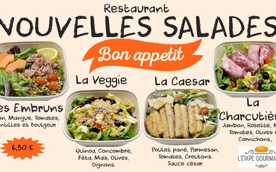 Salades Fraîcheur !